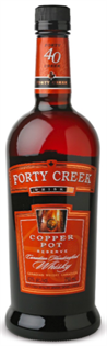 Forty Creek Canadian Whisky Copper Pot...